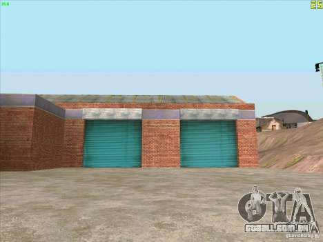 Nova garagem em Doherty para GTA San Andreas terceira tela