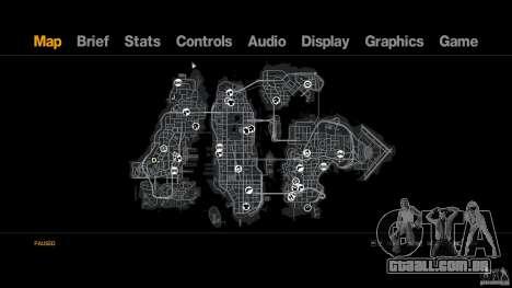 Drifttrack IV para GTA 4 por diante tela