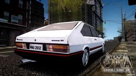Volkswagen Passat Pointer GTS 1988 Turbo para GTA 4 esquerda vista