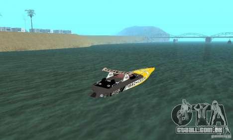Cesa Offshore para GTA San Andreas esquerda vista