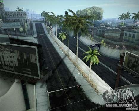 Novas estradas ao redor de San Andreas para GTA San Andreas nono tela
