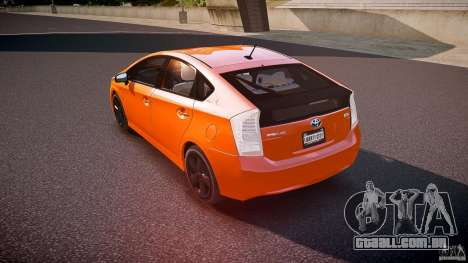 Toyota Prius 2011 para GTA 4 traseira esquerda vista