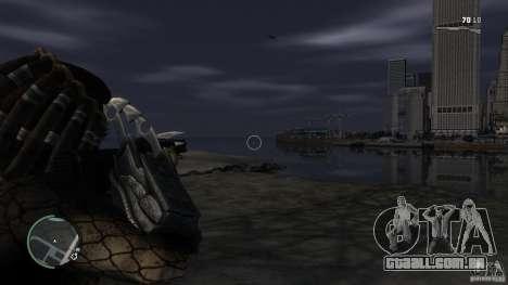 Predador Predator para GTA 4 terceira tela