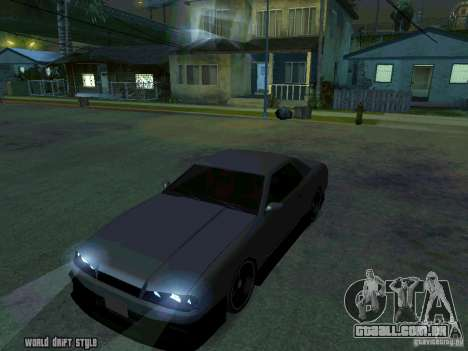 ELEGY BY CREDDY para GTA San Andreas vista direita