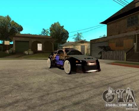Mitsubishi Eclipse RZ 1998 para GTA San Andreas vista direita