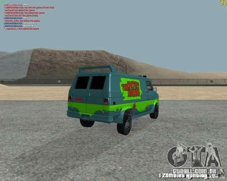 GMC Van 1983 para GTA San Andreas vista direita