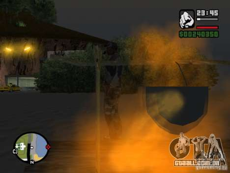 The present fishing mod V1 para GTA San Andreas terceira tela