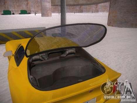 Dodge Viper 1996 para vista lateral GTA San Andreas