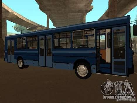 YAZ 5267 para GTA San Andreas esquerda vista
