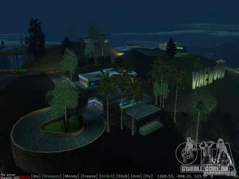 Villa Nova Med-Dogg para GTA San Andreas sétima tela