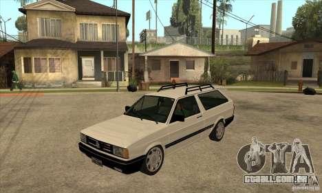 VW Parati GLS 1989 para GTA San Andreas