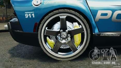Dodge Viper SRT-10 ACR ELITE POLICE para GTA 4 vista de volta