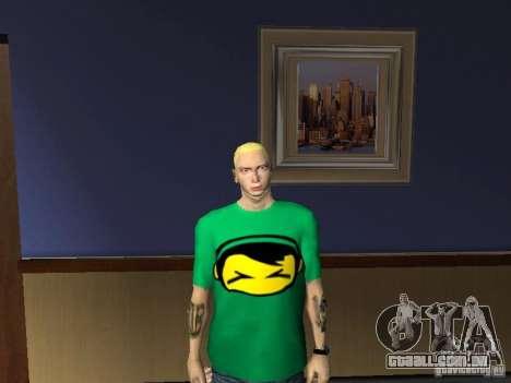 Pele Eminema para GTA San Andreas sexta tela