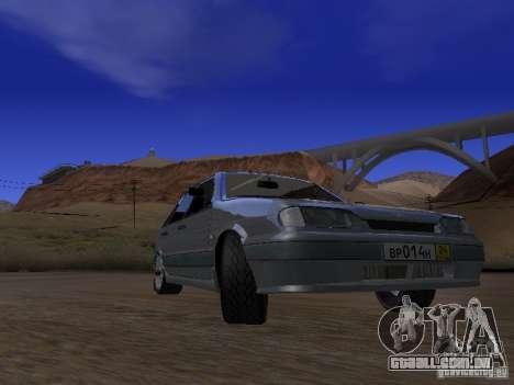ВАЗ 2114 Tuning para GTA San Andreas vista traseira