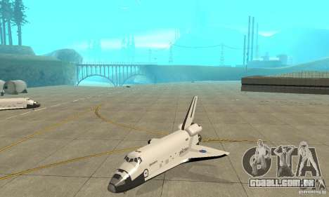 Space Shuttle Discovery para GTA San Andreas