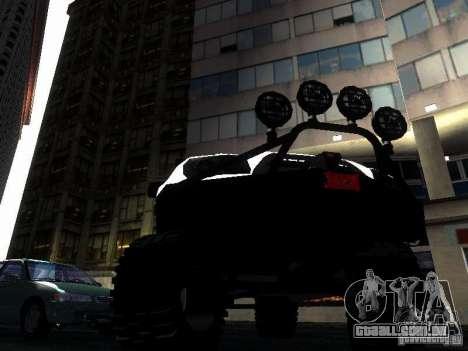 Toyota 4Runner 4X4 para GTA San Andreas vista interior
