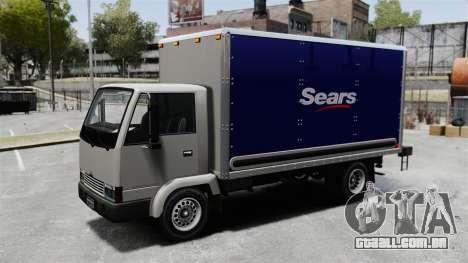 Novos anúncios para o caminhão, mula para GTA 4 traseira esquerda vista