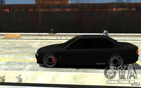 BMW 750i E38 HAMANN para GTA 4 esquerda vista