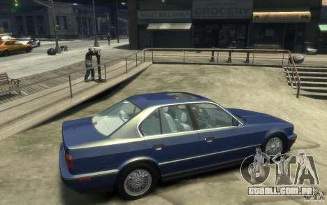 BMW 535i (E34) para GTA 4 vista direita