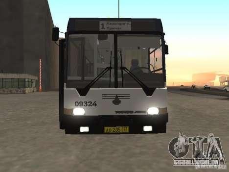 Autocarros 6222 para GTA San Andreas traseira esquerda vista