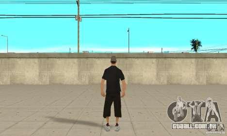 David Blane Skin para GTA San Andreas terceira tela