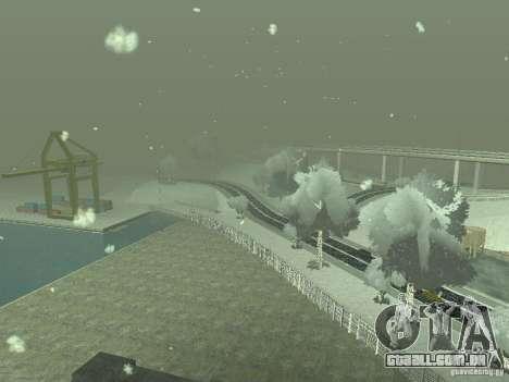 Neve v 2.0 para GTA San Andreas oitavo tela