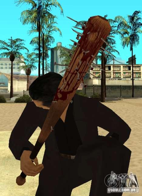 Pedaços sangrentos com unhas HD para GTA San Andreas