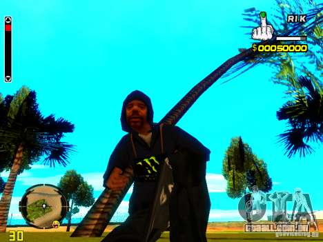 HUD do R1k. para GTA San Andreas