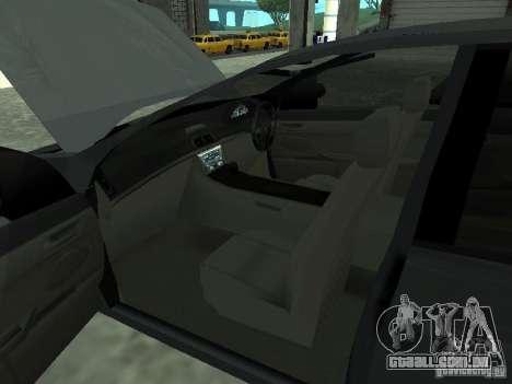 Holden Calais para GTA San Andreas traseira esquerda vista