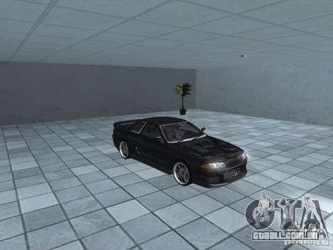 Nissan Skyline R32 Tuned para GTA San Andreas vista interior