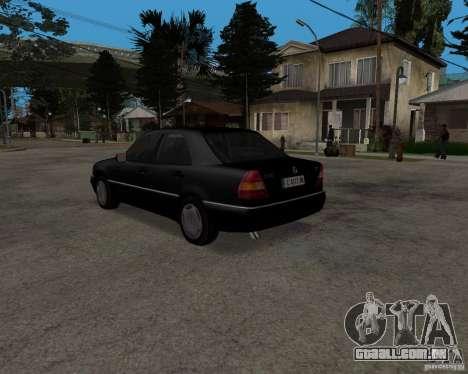 Mercedes-Benz C220 W202 1996 para GTA San Andreas vista direita