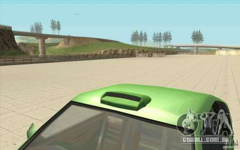 Mad Drivers New Tuning Parts para GTA San Andreas segunda tela