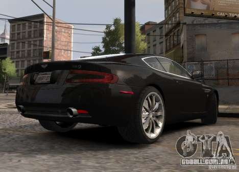 Aston Martin DB9 2008 v 1.0 para GTA 4 vista inferior