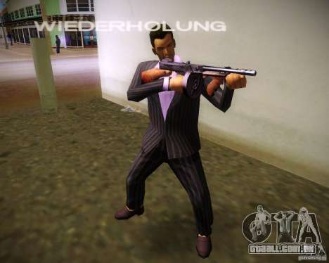 Thompson Model 1928 para GTA Vice City terceira tela