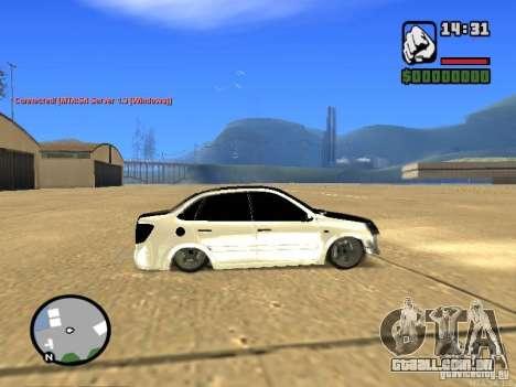 Estilo de Grant JDM 2190 VAZ para GTA San Andreas esquerda vista