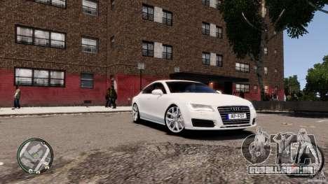 Audi A7 Sportback para GTA 4