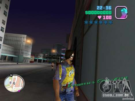 Novas skins Pak para GTA Vice City décimo tela
