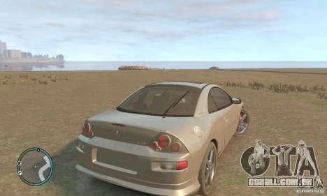 Mitsubishi Eclipse Spyder para GTA 4 vista direita