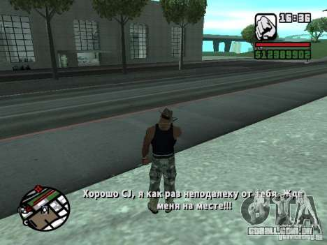 Gun Seller RUS para GTA San Andreas terceira tela