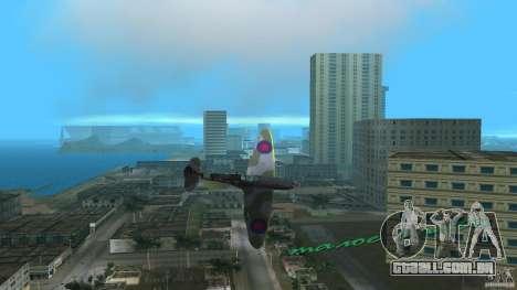 Spitfire Mk IX para GTA Vice City deixou vista