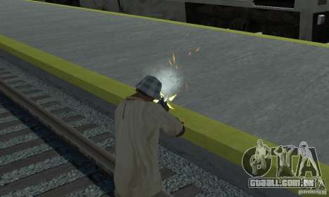 New Effects para GTA San Andreas terceira tela