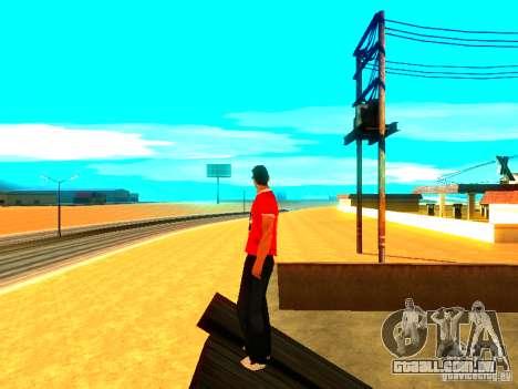 Repórter de pele para GTA San Andreas terceira tela
