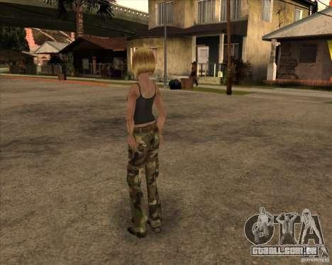 Nova gangrl3 para GTA San Andreas segunda tela