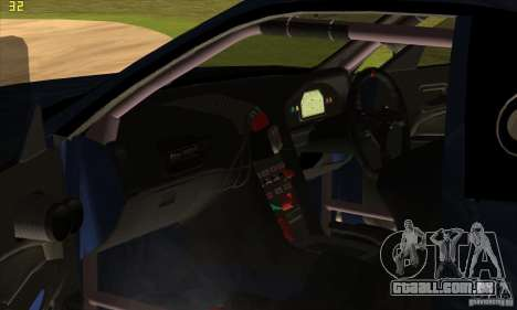 Nissan Skyline R34 GT-R LM para o motor de GTA San Andreas