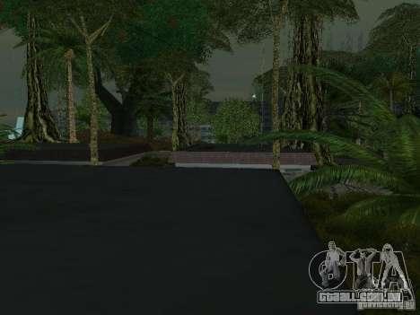 O mistério das ilhas tropicais para GTA San Andreas nono tela