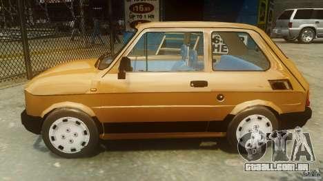Fiat 126p FL Polski 1994 Wheels 2 para GTA 4 esquerda vista
