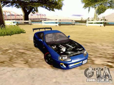 Toyota Supra Drift Edition para GTA San Andreas