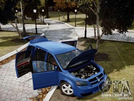 Dodge Grand Caravan SXT 2008 para GTA 4 vista lateral