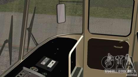 Pele LAZ 699R 93-98 1 para GTA San Andreas vista superior