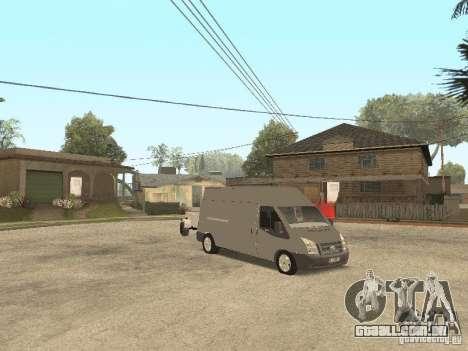 Ford Transit 2007 para GTA San Andreas esquerda vista